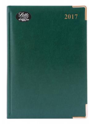 Ежедневник датированный Letts LEXICON (PU) A4 искусственная кожа 412128150 еженедельник датированный letts global deluxe ibiza a4 натуральная кожа 412127410