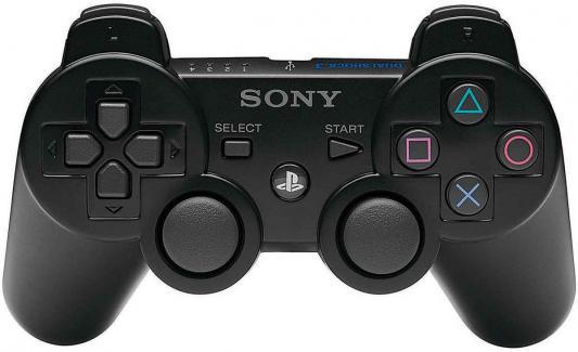 Геймпад Sony Dualshock 3 для Sony PlayStation 3 черный CECHZC2E от 123.ru