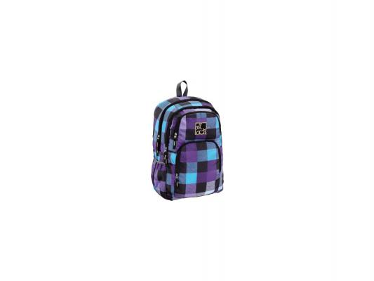Школьный рюкзак с отделением для ноутбука All Out Kilkenny Caribbean Check 23 л фиолетовый черный голубой 00124829