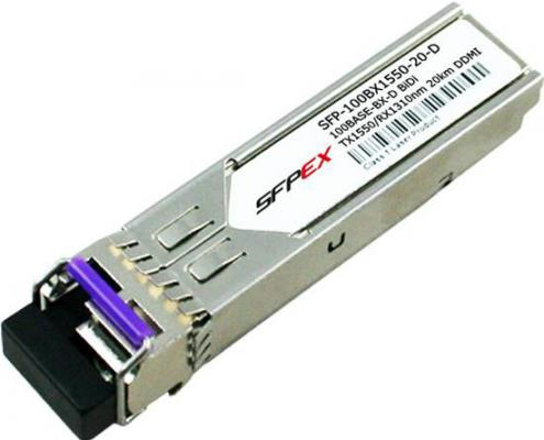 Трансивер сетевой Zyxel SFP-100BX1550-20-D