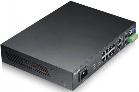 Коммутатор Zyxel MES3500-10 управляемый 10 портов SFP-слот 100BASE-X 2xGigabit Ethernet коммутатор zyxel gs1100 16 gs1100 16 eu0101f