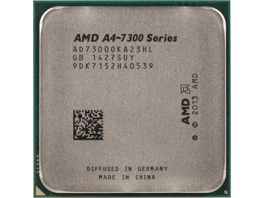 Процессор AMD A4 X2 7300 3.8GHz 1Mb AD7300OKA23HL Socket FM2 OEM процессор amd a4 6320 fm2 oem