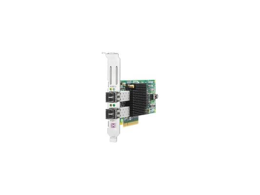 Модуль HP 82E 8Gb Dual-port PCI-e FC HBA AJ763B адаптер hpe 81e 8gb sp pci e fc hba aj762b