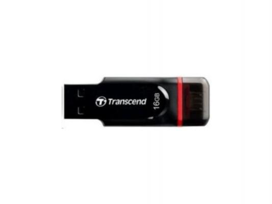 Флешка USB 16Gb Transcend JetFlash 340 TS16GJF340 черный