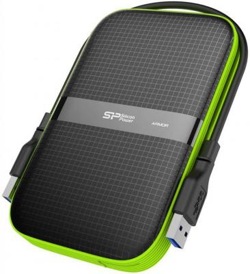 Внешний жесткий диск 2.5 USB3.0 500Gb Silicon Power SP500GBPHDA60S3K черный