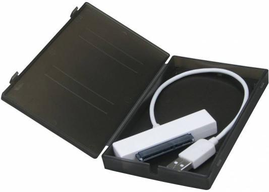 """Внешний контейнер для HDD 2.5"""" SATA AgeStar SUBCP1 USB2.0 черный"""