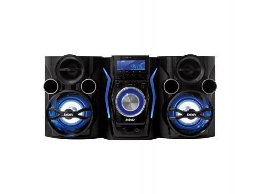Минисистема DVD BBK AMS110BT 2х60Вт синий