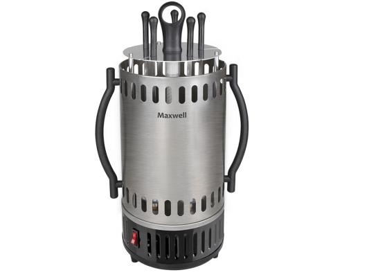 Электрошашлычница Maxwell MW-1990 ST 1000Вт вертикальная