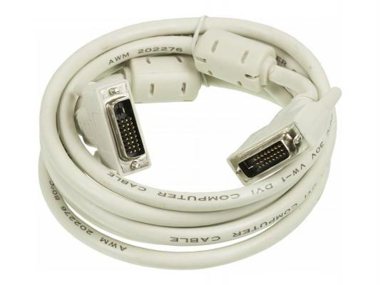 Кабель DVI-DVI 3.0м Dual Link Gembird RD-DVI-3-BR
