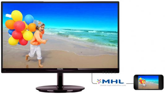 Монитор 22 Philips 224E5QHSB монитор philips 224e5qhsb 00 black