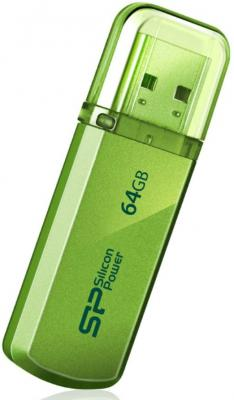 Флешка USB 64GB Silicon Power Helios 101 SP064GBUF2101V1N зеленый