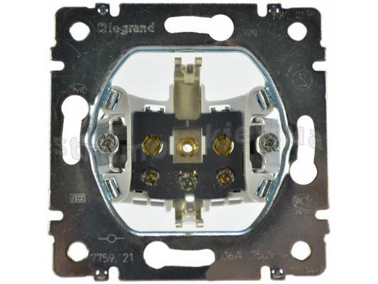 Розетка электрическая Legrand Galea Life 2К+3 автоматические клеммы 775921