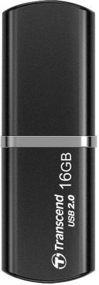 Флешка USB 16Gb Transcend JetFlash 320K TS16GJF320K черный trybeyond толстовка для мальчика 999 74489 00 40b серый trybeyond
