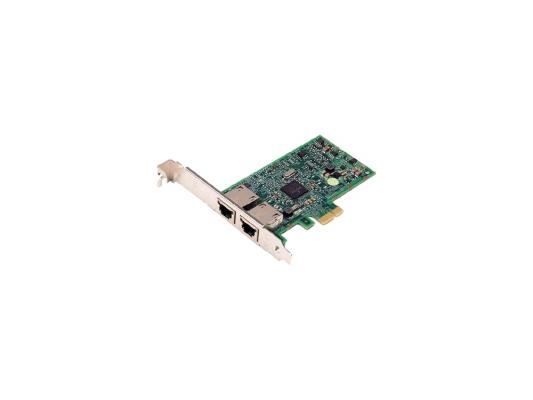 Сетевой адаптер Dell Broadcom 5720 Dual Port PCI-E 10/100/1000Mbps 540-11134 адаптер dell broadcom 5720 qp 1gb network daughter card 540 11146