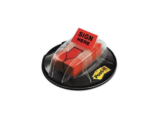 Блок для записи 3M Post-it 680-HVAR 25мм 200 листов красный со стрелкой 7000029870
