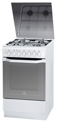 Комбинированная плита Indesit I5G52G(W)/RU белый