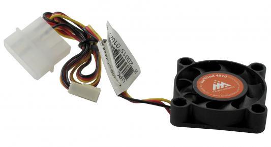 Вентилятор Glacialtech  IceWind 4010 40x40x10 3pin+4pin 26dB 25g BULK CF4010GSD0AB0001