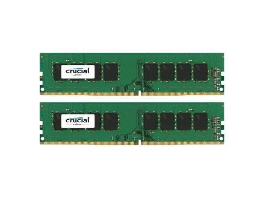 Оперативная память 16Gb (2x8Gb) PC4-17000 2133MHz DDR4 DIMM Crucial CT2K8G4DFD8213 288-pin non-ECC