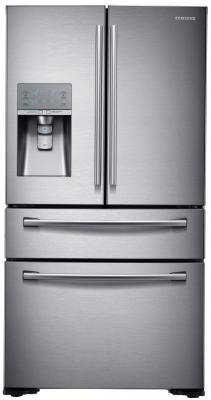 Холодильник Side by Side Samsung RF-24HSESBSR серебристый холодильник side by side samsung rs 57 k 4000 sa