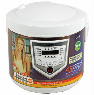 Мультиварка Lumme LU-1444 860Вт 5л бело-бежевый