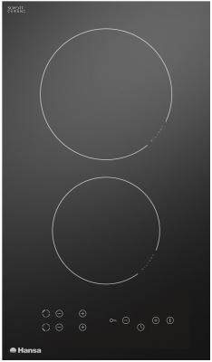 Варочная панель электрическая Hansa BHC33077 черный варочная панель электрическая hansa bhiw 68303 белый