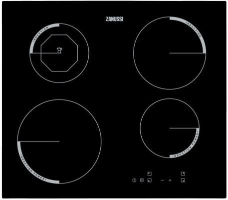 Варочная панель электрическая Zanussi ZEI5680FB черный
