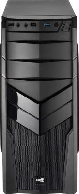 Корпус ATX Aerocool V2X Black Edition Без БП чёрный 4713105952643 цена и фото