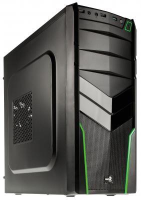 все цены на  Корпус ATX Aerocool V2X Green Edition Без БП чёрный зелёный 4713105952667  онлайн