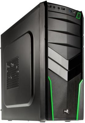 Корпус ATX Aerocool V2X Green Edition 600 Вт зелёный чёрный