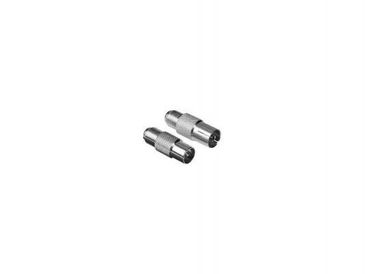Адаптер антенный Hama H-47415 металл 2шт