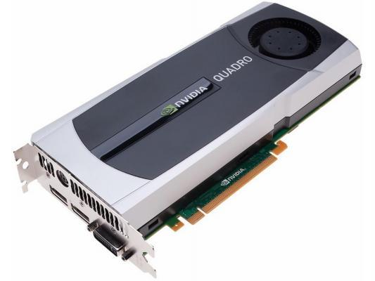 Видеокарта 6144Mb PNY Quadro 6000 PCI-E 384bit GDDR5 2xDVI DP 612953-001 OEM