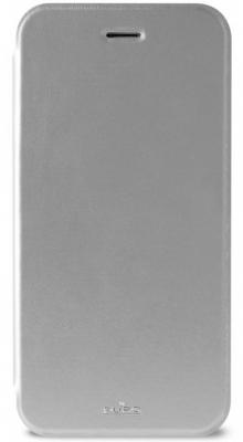 Чехол-книжка PURO Booklet Crystal для iPhone 6 серебристый IPC647BOOKCCRYSIL
