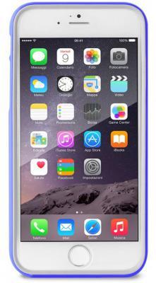 Бампер PURO BUMPER для iPhone 6 синий IPC647BUMPERBLUE