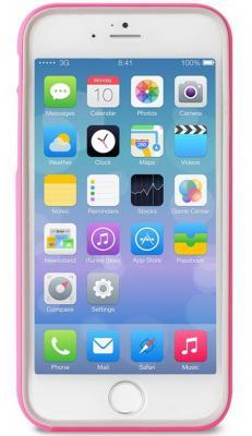 Бампер PURO BUMPER для iPhone 6 розовый IPC647BUMPERPNK