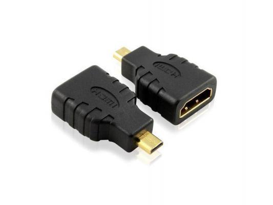 Переходник HDMI(f)- microHDMI(m) Greenconnect поворотные коннекторы GC-CVM401  GC-CVM401
