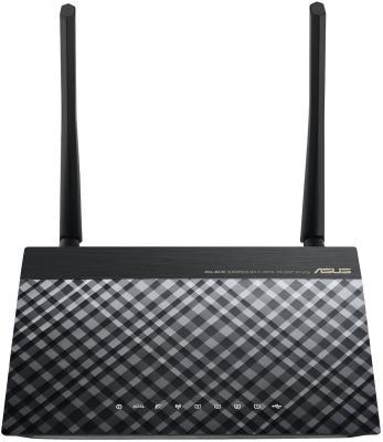 Беспроводной маршрутизатор ADSL ASUS DSL-N14U 802.11n 300Mbps 4xLAN
