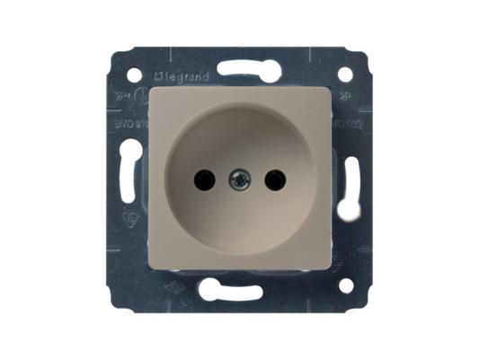 Розетка электрическая Legrand Cariva 2К 16А/250В слоновая кость 773716