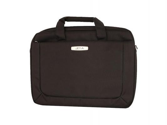 """Сумка для ноутбука 15.6"""" Jet.A LB15-62 полиэстер коричневый"""