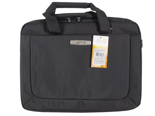 """Сумка для ноутбука 15.6"""" Jet.A LB15-62 полиэстер серый"""