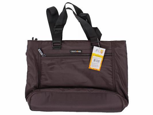 """Сумка для ноутбука 15.6"""" Jet.A LB15-70 полиэстер темно-коричневый"""