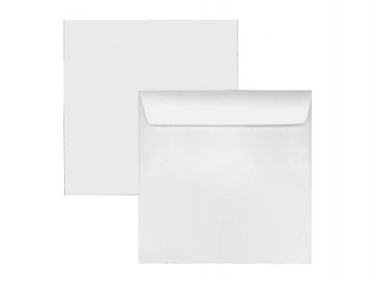 Конверт для CD без окна с клеевым слоем 1000шт белый 201060
