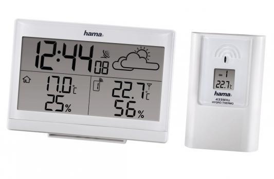 Метеостанция Hama H-113986 EWS-890 белый