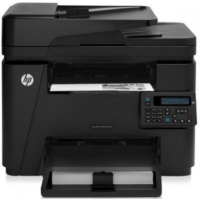 МФУ HP LaserJet Pro MFP M225rdn CF486A ч/б A4 25ppm 600x600dpi факс Ethernet USB