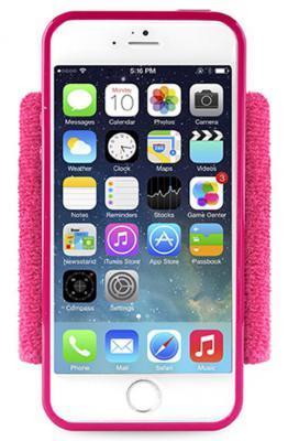 Чехол (клип-кейс) PURO Running Band для iPhone 6 розовый IPC647RUNPNK