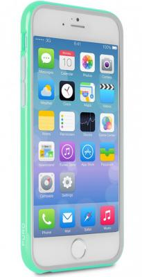 Бампер PURO BUMPER для iPhone 6 бирюзовый IPC655BUMPERACQUA