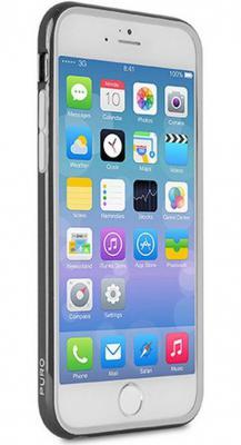 Бампер PURO BUMPER для iPhone 6 чёрный IPC655BUMPERBLK