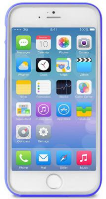 Бампер PURO BUMPER для iPhone 6 синий IPC655BUMPERBLUE