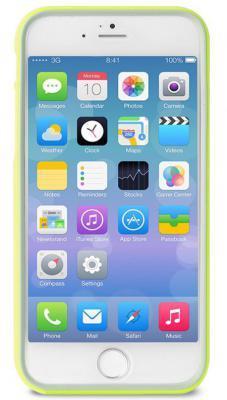 Бампер PURO BUMPER для iPhone 6S Plus iPhone 6 Plus зеленый IPC655BUMPERGRN защитный чехол r just с креплением на велосипед для iphone 7 7 plus 6 plus 6s plus 6 6s 5 5s se