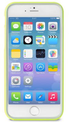 Бампер PURO BUMPER для iPhone 6S Plus iPhone 6 Plus зеленый IPC655BUMPERGRN puro flag cover canada