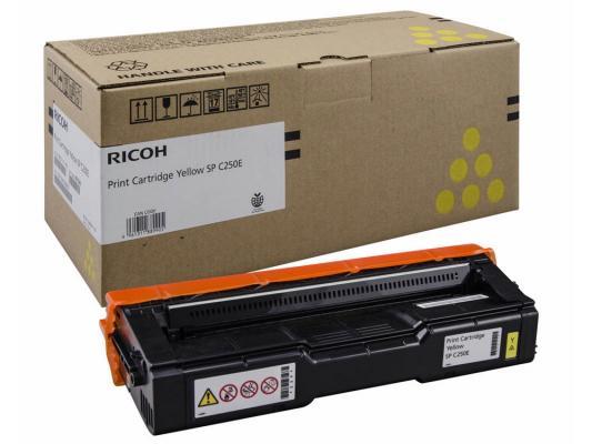 Картридж Ricoh SP C250E для SP C250DN/C250SF жёлтый 1600стр 407546
